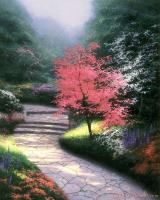 Afternoon Light, Dogwood by Thomas Kinkade