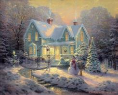 Blessings of Christmas by Thomas Kinkade