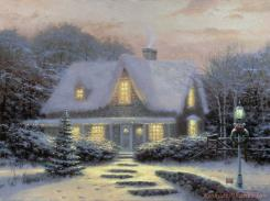 Christmas Eve by Thomas Kinkade