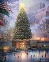 Christmas in New York by Thomas Kinkade