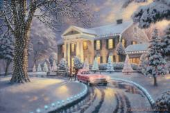 Graceland Christmas by Thomas Kinkade