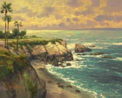 La Jolla Cove by Thomas Kinkade