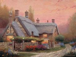 Mckenna's Cottage by Thomas Kinkade