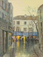 Montmartre by Thomas Kinkade