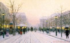 Paris Snowfall by Thomas Kinkade