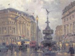 Piccadilly Circus by Thomas Kinkade