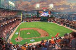 San Francisco Giants, It's Our Time by Thomas Kinkade