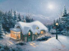 Silent Night by Thomas Kinkade