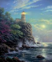 Split Rock Light by Thomas Kinkade