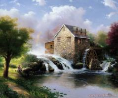 The Blessings of Summer by Thomas Kinkade