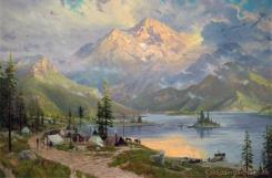 The Edge of The Wilderness by Thomas Kinkade