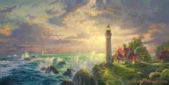 The Guiding Light by Thomas Kinkade
