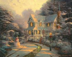 The Night Before Christmas by Thomas Kinkade