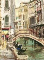 Venice Canal by Thomas Kinkade