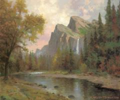 Yosemite Valley by Thomas Kinkade